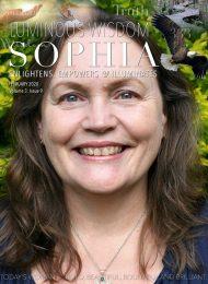 February - Luminous Wisdom Sophia - front cover
